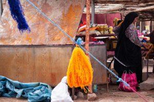 Mercado de Agdz. Marruecos