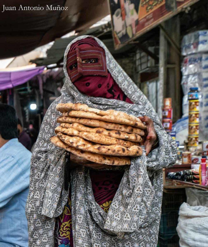 La mujer del pan. Irán