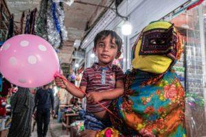 El niño del globo. Minab. Irán