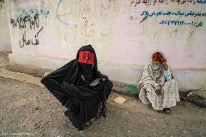Enmascaradas de Minab. Irán