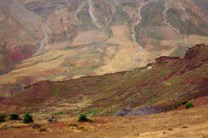 Colores montaña. Marruecos