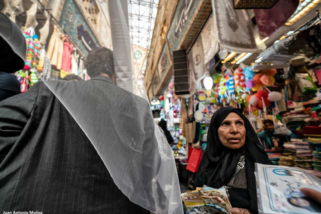 Interior Bazar Tajrish. Teheran