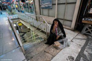 Escaleras Bazar Tajrish. Teheran