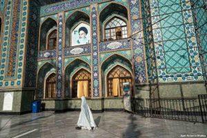 Mezquita Iman Zaddeh. Teheran