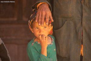 Padre e hija. Marruecos