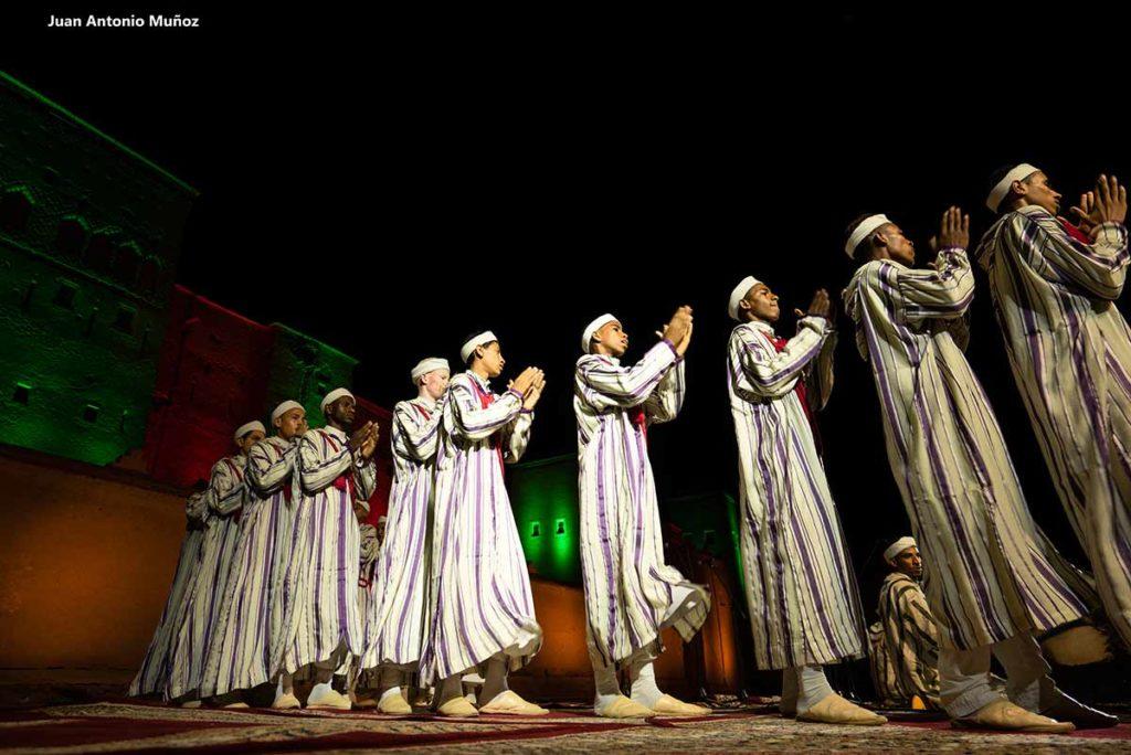 Danza Ahwach. Marruecos