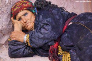 Bereber descansando. Marruecos