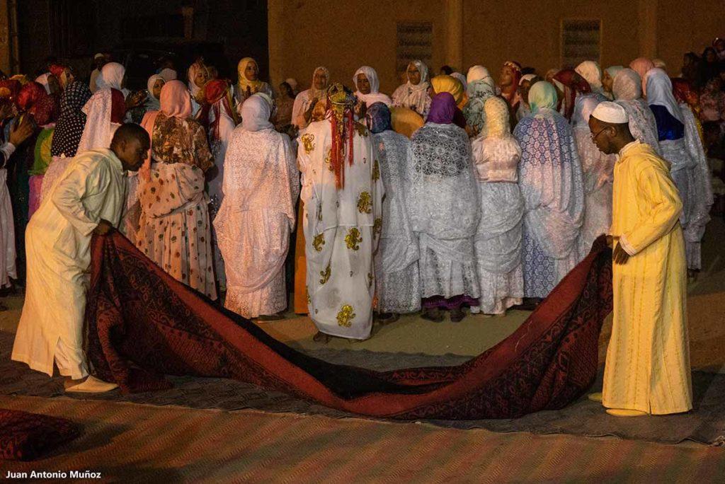 Preparando el baile. Marruecos