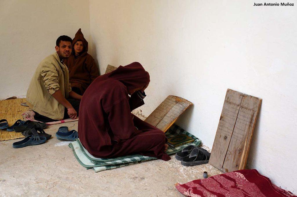 Estudiando Corán. Marruecos