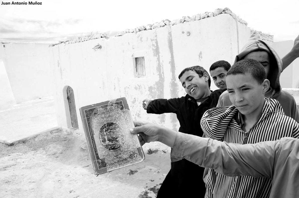 Libro Corán. Marruecos