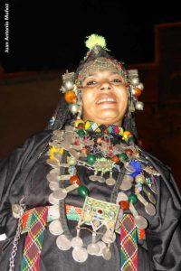 Mujer con joyas. Marruecos