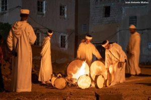 Calentando tambores. Marruecos
