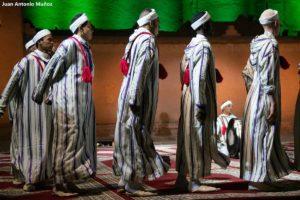 Bailarines Ahwach. Marruecos