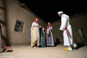 Sara casa Khalifa. Marruecos