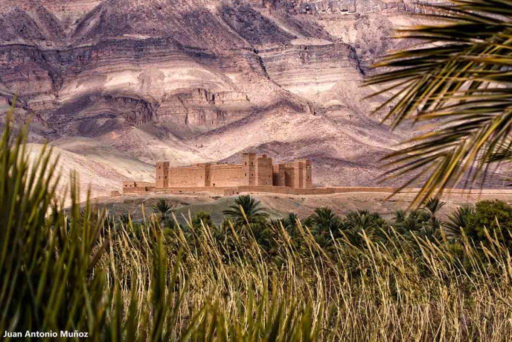 Kasba Tamnougalt. Marruecos