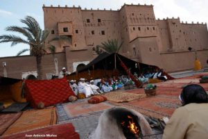 Jaima en Taourirt. Marruecos