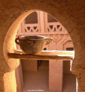 Arco interior kasba. Marruecos