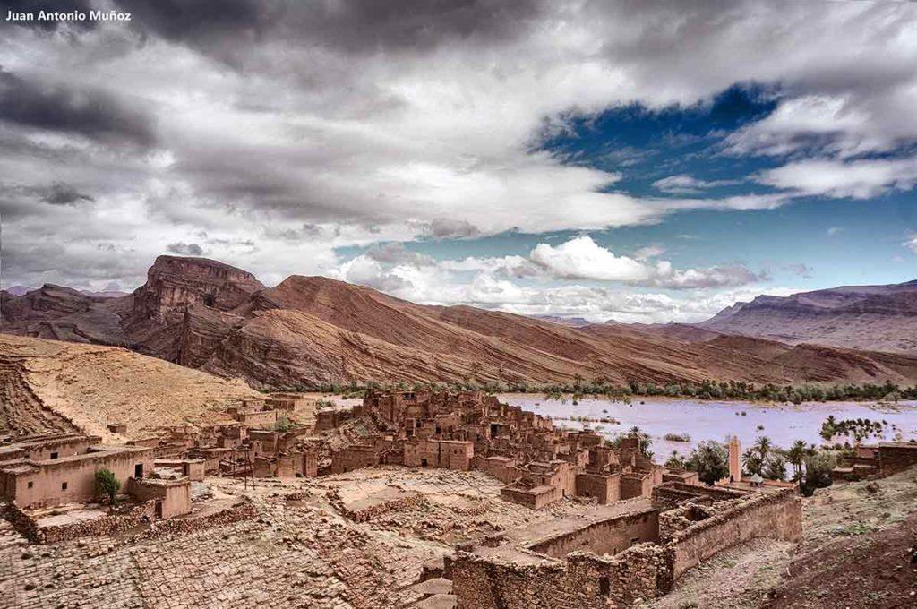 Pueblo del Draa. Marruecos