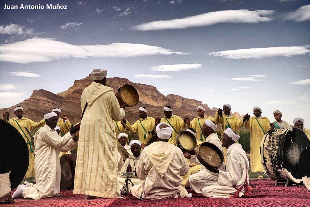 Ahwach Kissane. Marruecos