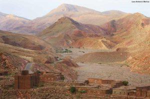 Kasbah Imi N´Oulaoun. Marruecos
