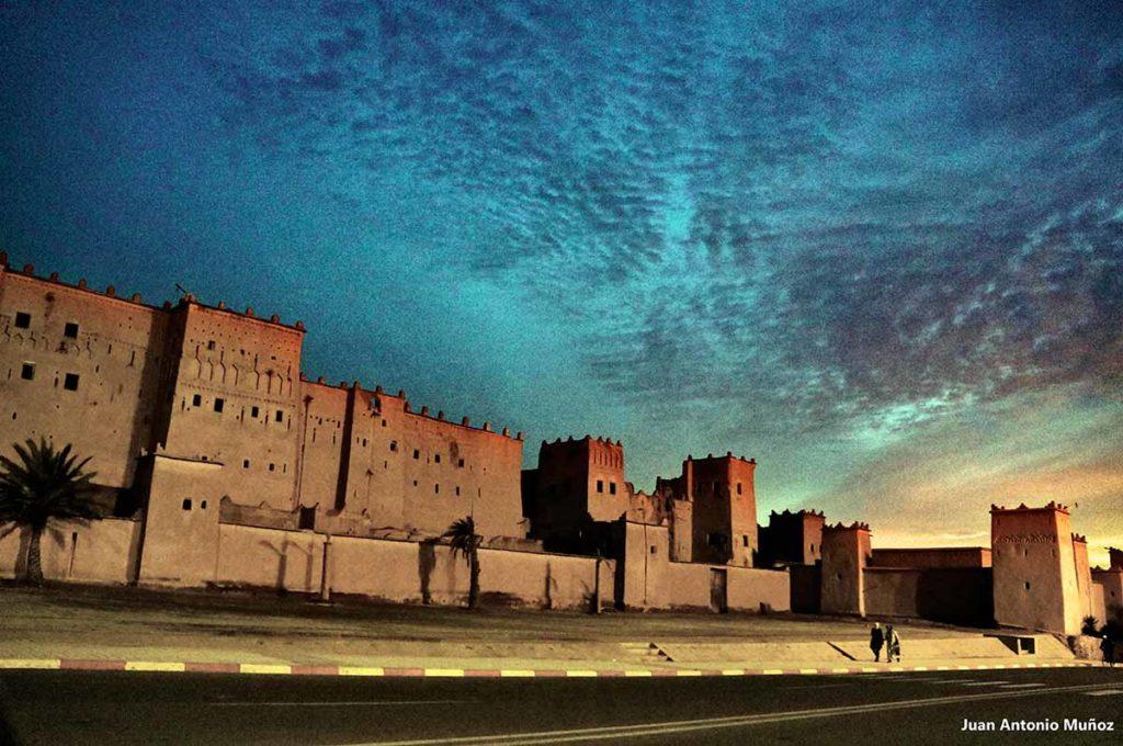 kasbah Taourirt. Marruecos