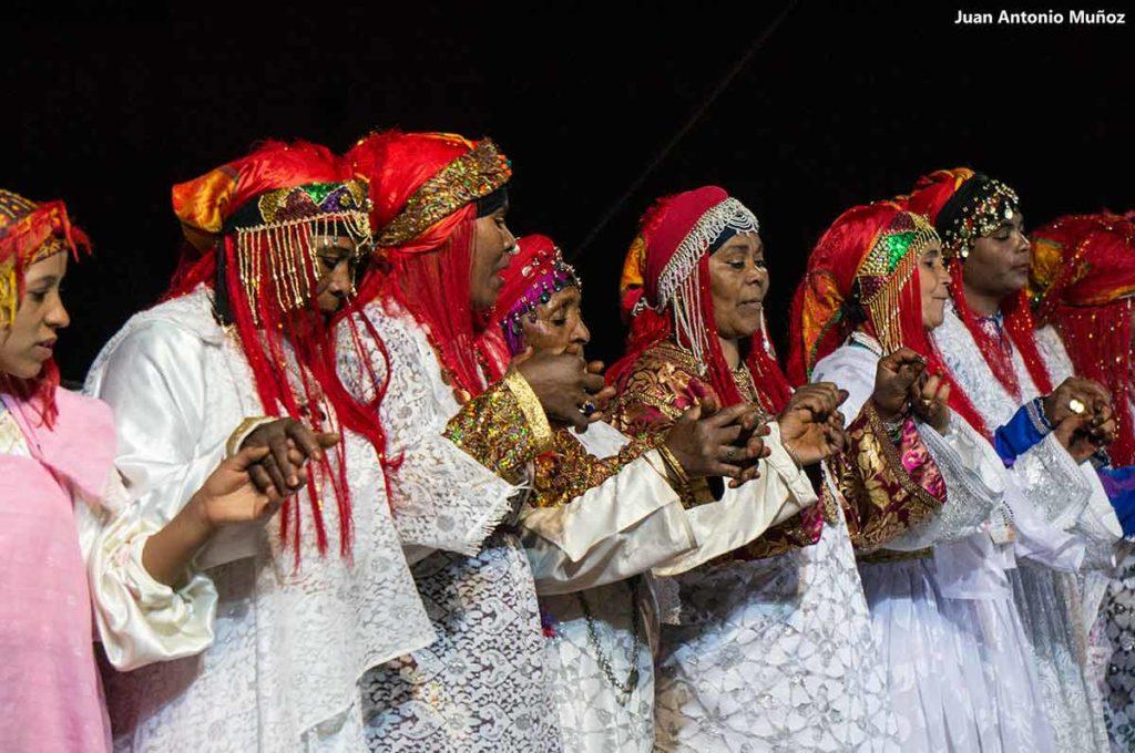 Mujeres Ahwach. Marruecos