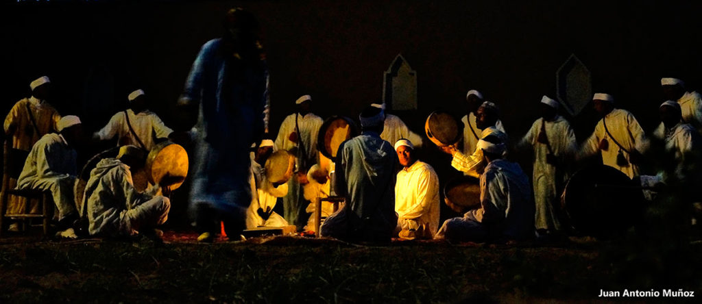 Grupo nocturno. Marruecos
