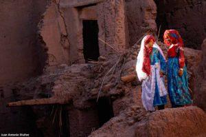 Chicas en Hara. Marruecos