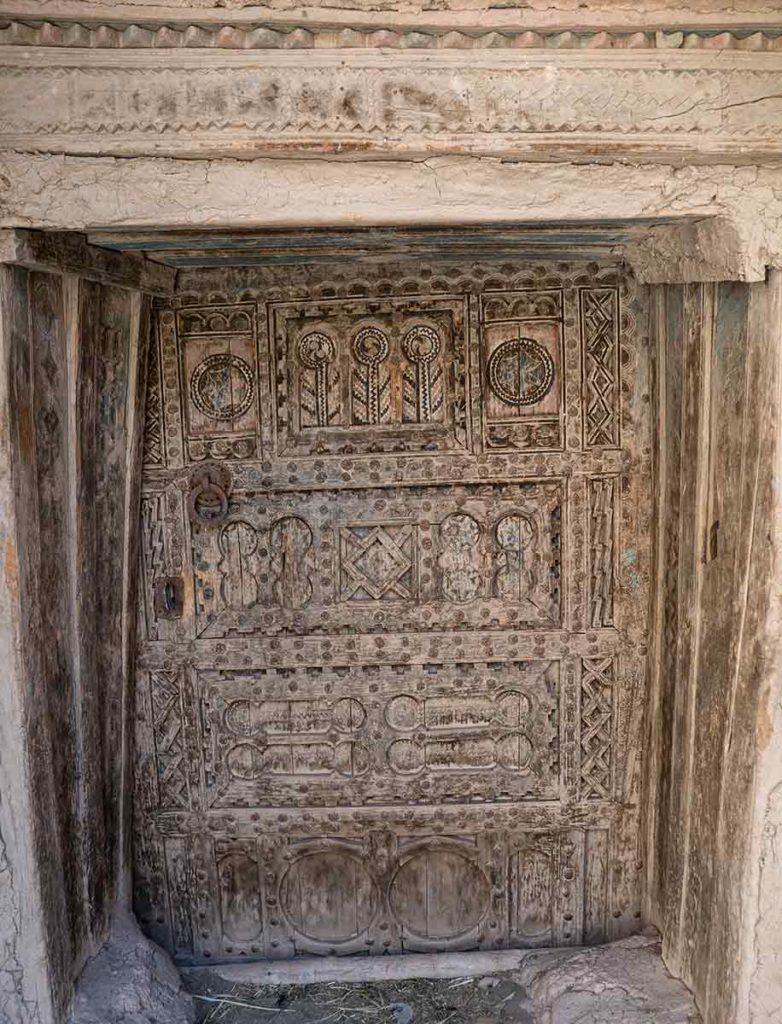 Puerta Tiflit. Marruecos