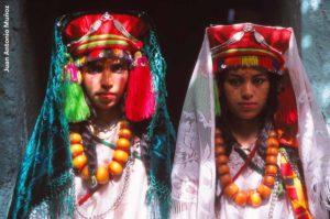 Novias en Merzouga. Marruecos