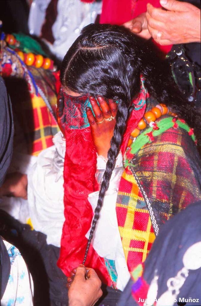 Peinado y henna. Marruecos