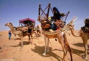 Caravana maura. Marruecos
