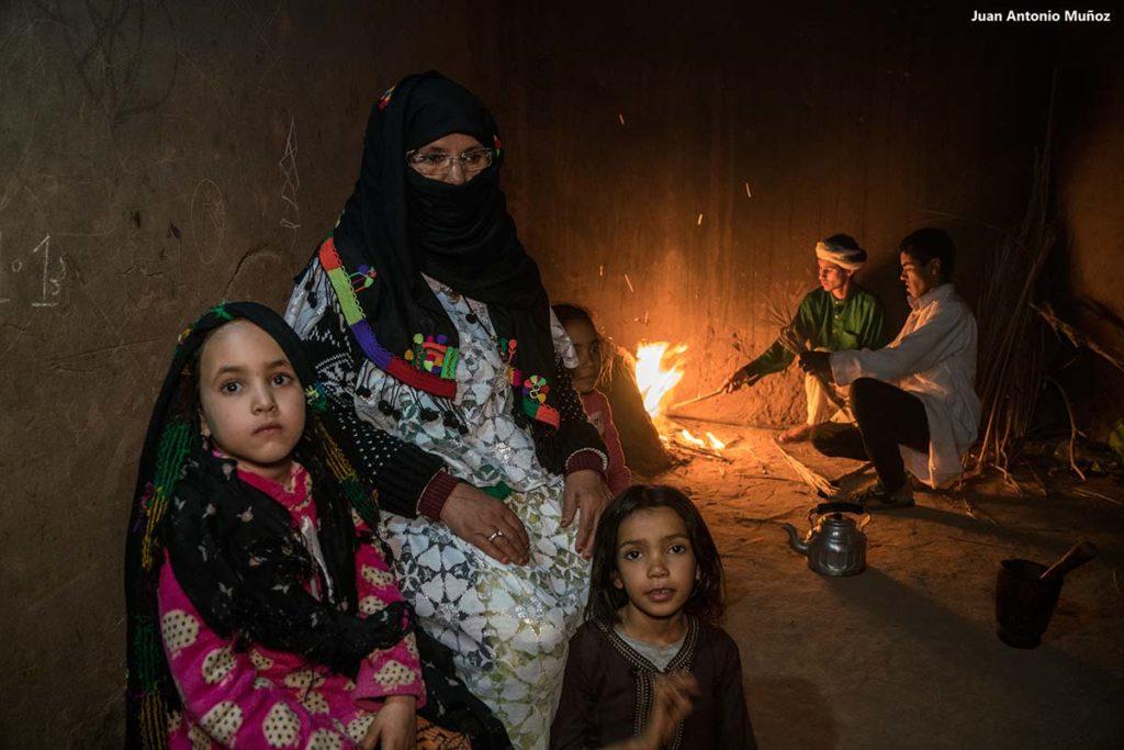 Familia Bni Mhamad. Marruecos
