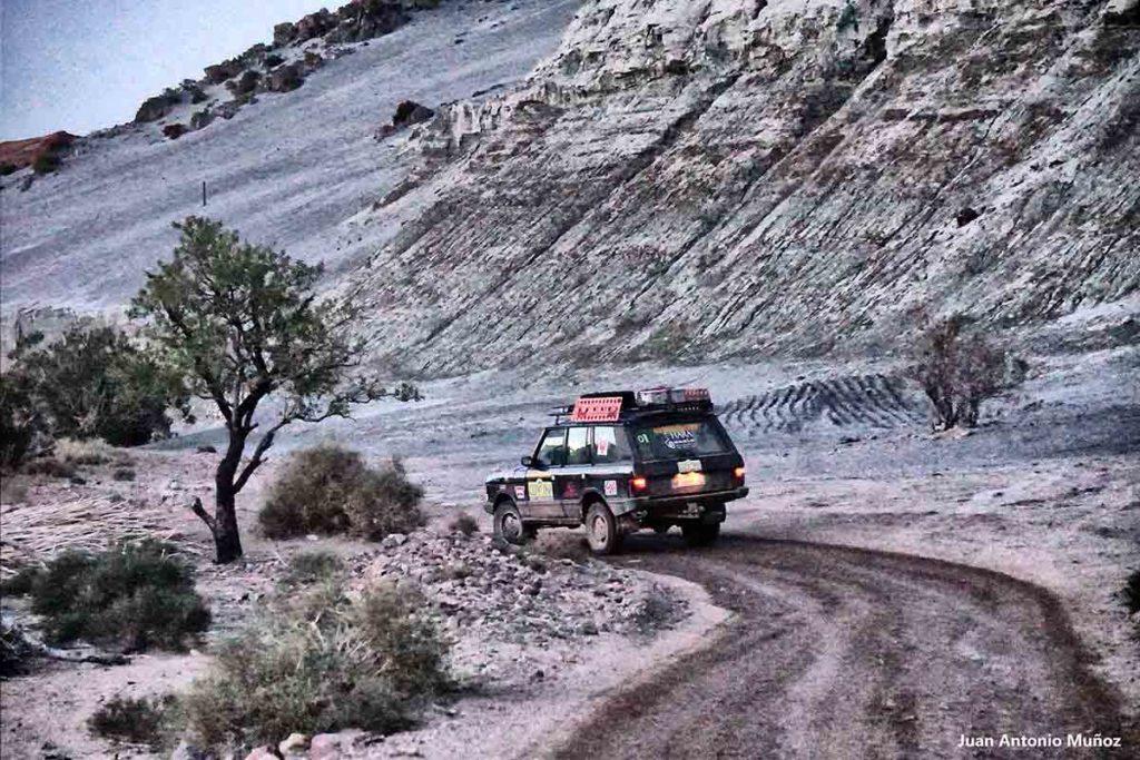 Range y blancos. Marruecos