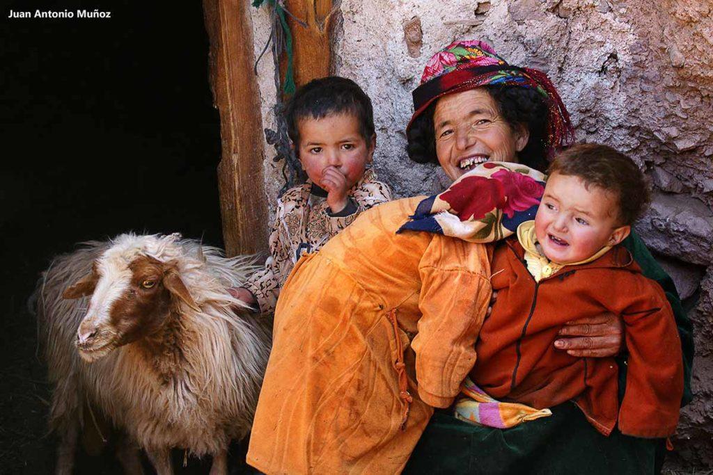 Familia Tazaoute. Marruecos