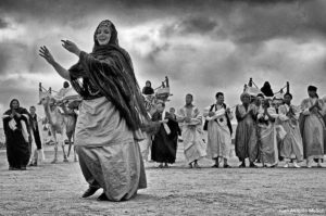 Bailando en Moussem. Marruecos