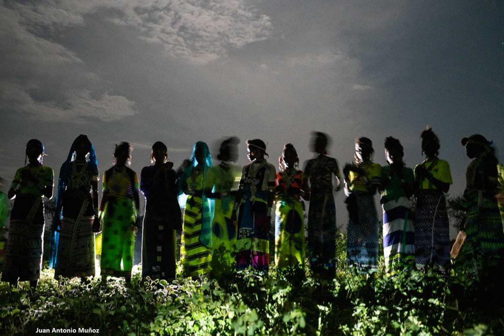 Mujeres en la noche. Chad