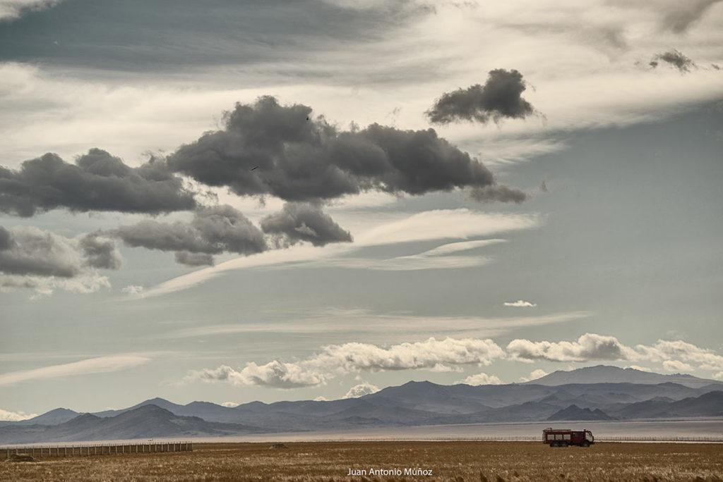 Camión bomberos. Mongolia