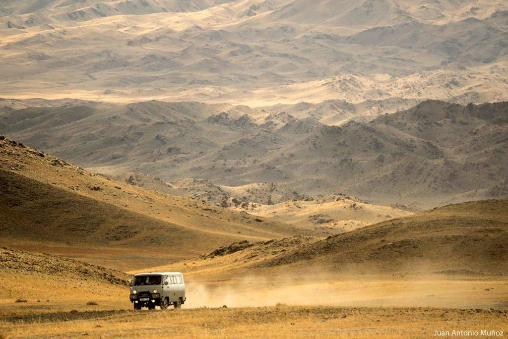 Camino de marte. Mongolia