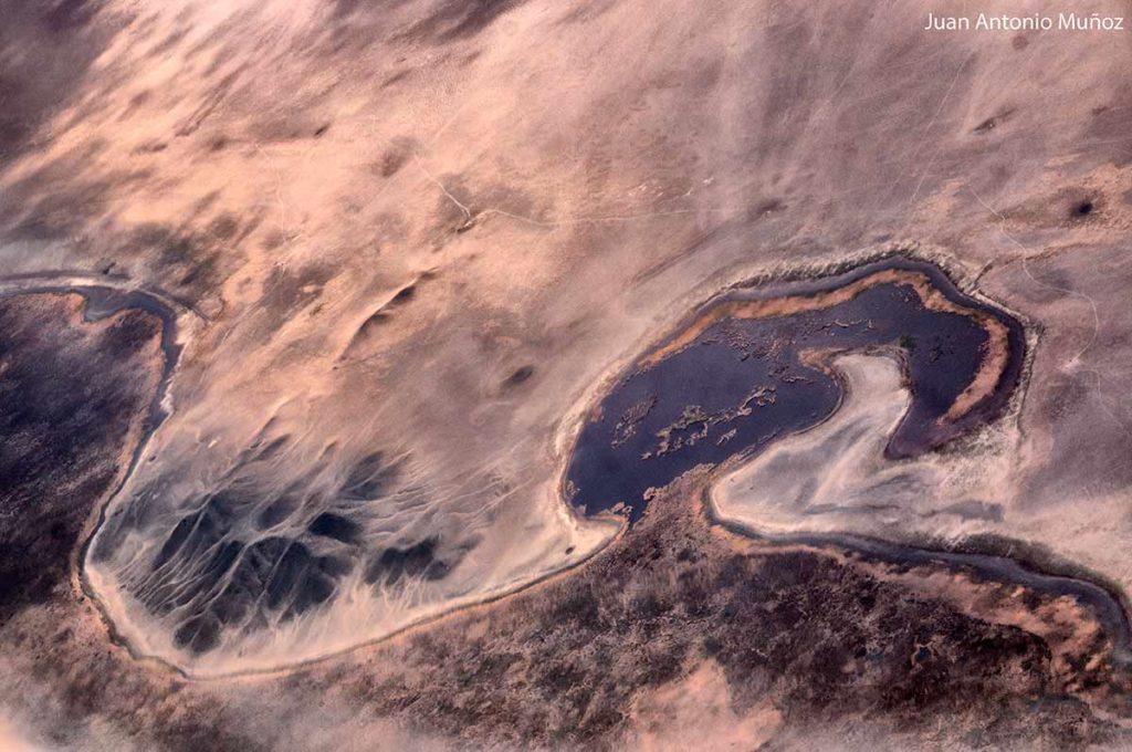 Visión aérea. Mongolia
