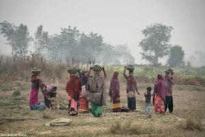 Mujeres en trabajo. Nepal