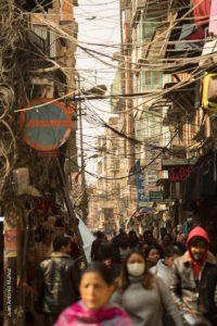 Calle Kathmandu. Nepal