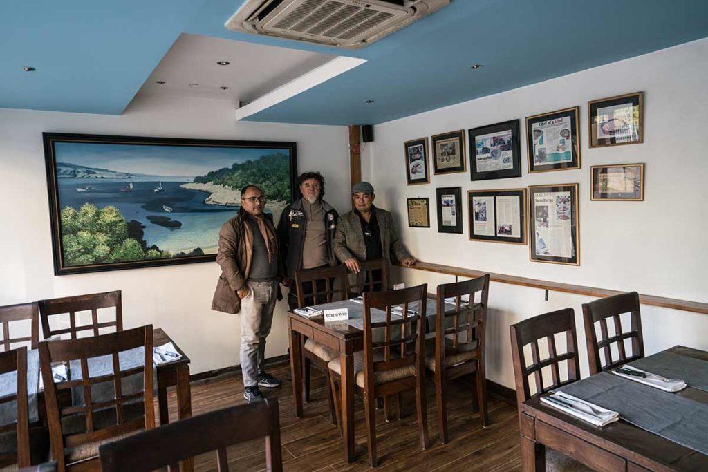 Restaurante Mediterráneo. Nepal