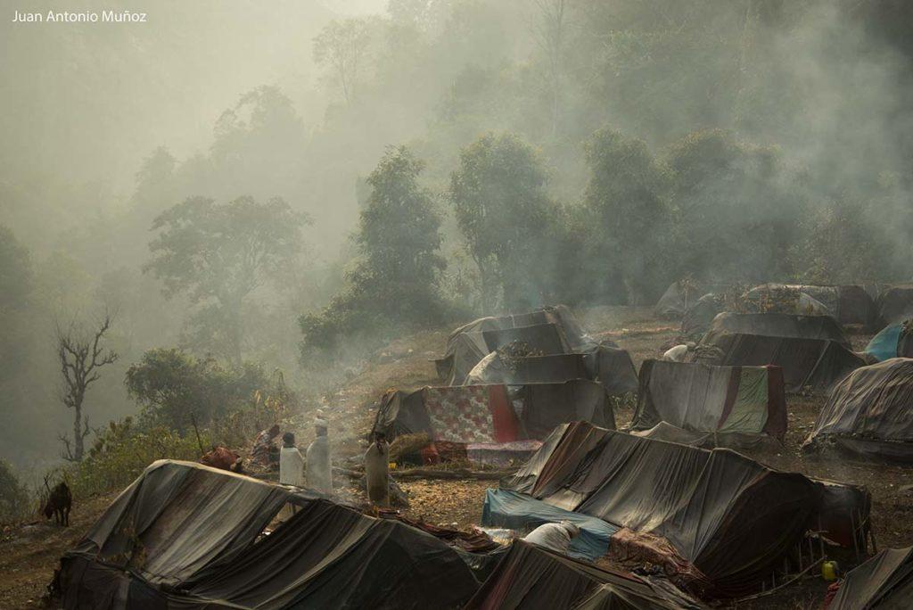 Campamento Raute. Nepal