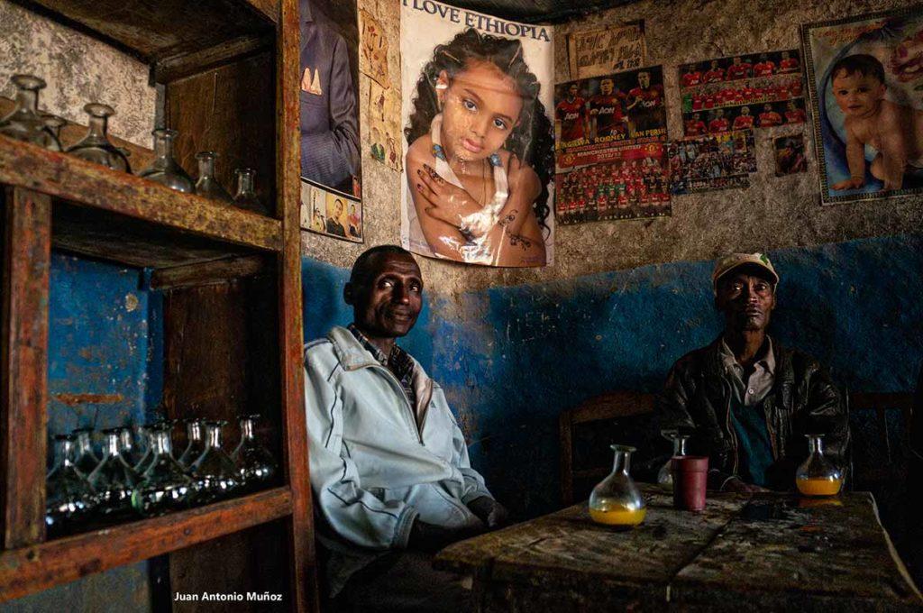 Bar Taj. Etiopía