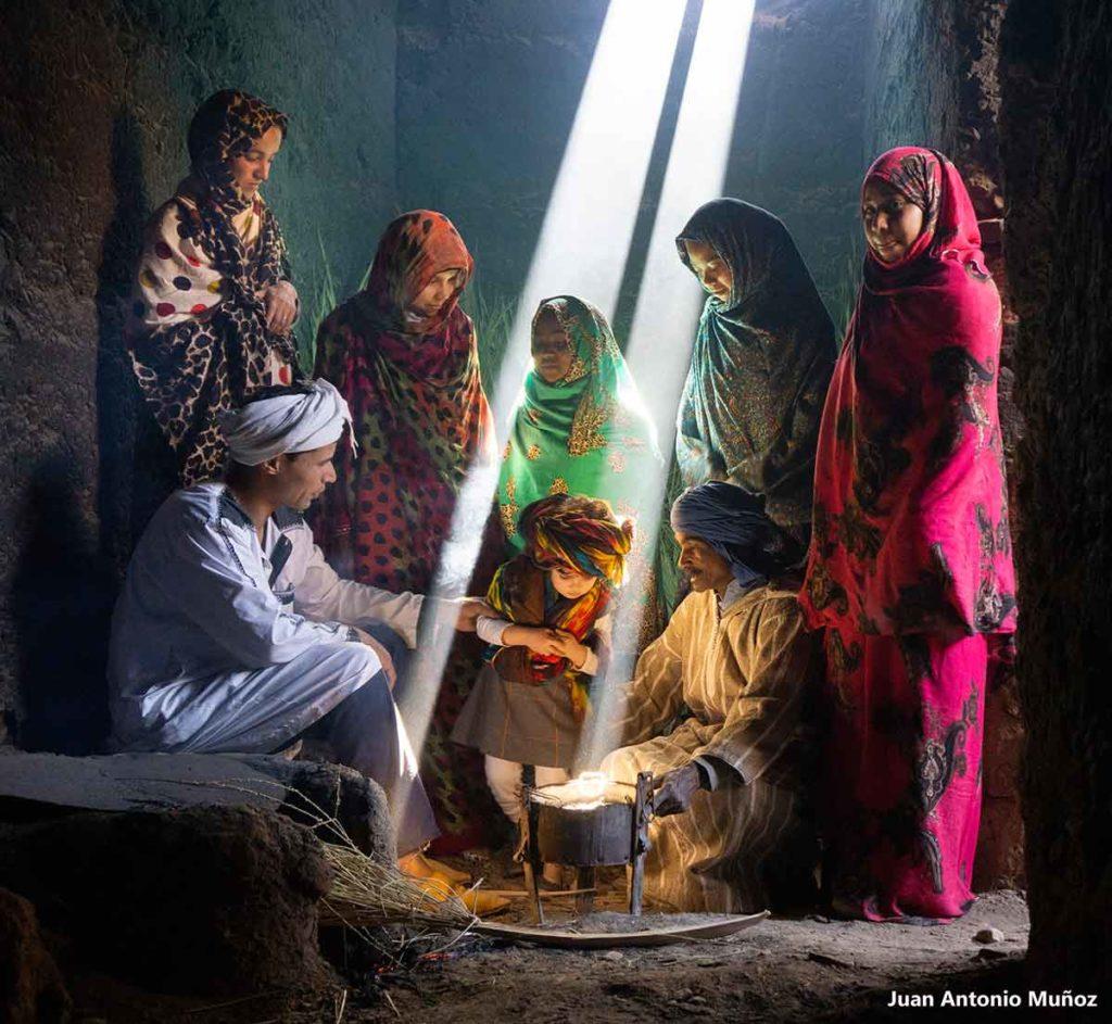 Luces en té. Marruecos