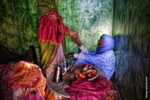Color en Hara. Marruecos