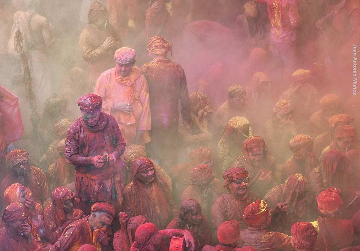 Dante y Virgilio. India