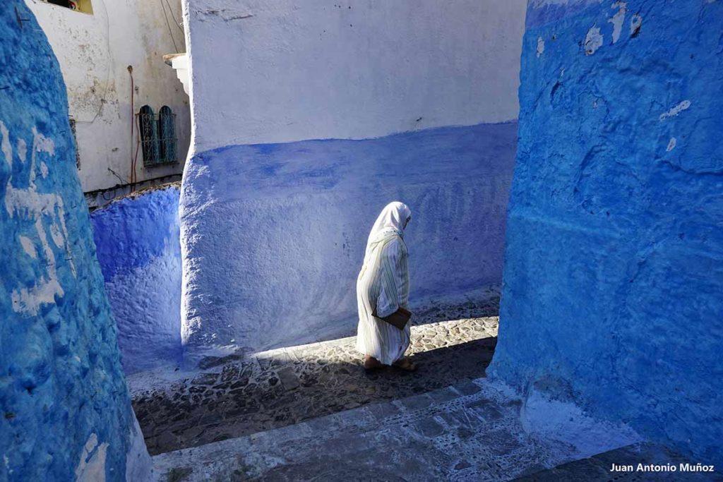 Mujer Chaouen. Marruecos