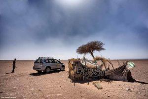 Cabaña abandonada. Marruecos